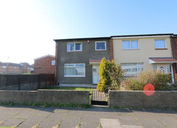 Thumbnail 3 bed end terrace house for sale in Ashbourne Road, Jarrow, Tyne And Wear
