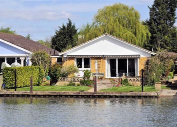 Thumbnail 4 bedroom detached bungalow for sale in The Island, Wraysbury, Berkshire