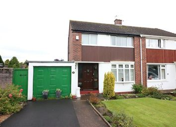 Thumbnail 3 bed semi-detached house for sale in Smithy Croft, Houghton, Carlisle, Cumbria