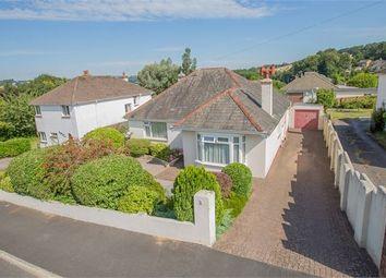 Thumbnail 3 bedroom detached bungalow for sale in Lyndhurst Avenue, Kingskerswell, Newton Abbot, Devon.