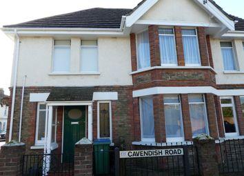 Thumbnail 2 bed flat to rent in Cavendish Road, Bognor Regis, West Sussex
