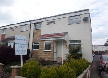 Thumbnail 3 bedroom end terrace house to rent in Shannon Road, Kings Norton, Birmingham