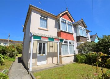 Thumbnail 4 bed semi-detached house for sale in St. Pirans Road, Perranporth, Cornwall