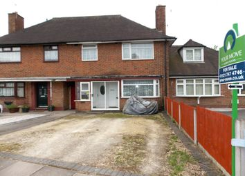 Thumbnail 3 bed terraced house for sale in Brownfield Road, Birmingham