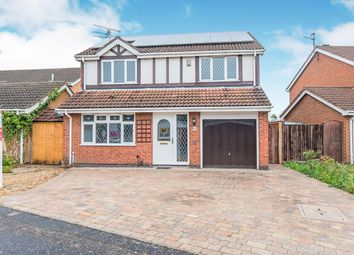 Thumbnail 4 bedroom detached house for sale in Catherine Close, Orton Longueville, Peterborough