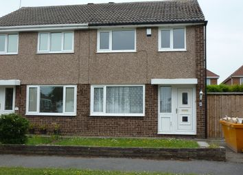 Thumbnail 3 bed semi-detached house to rent in Foxwood Close, Newton, West Kirby, Wirral