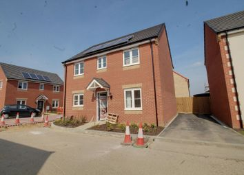 Thumbnail 4 bedroom detached house for sale in The Kelso, Eastrea Road, Whittlesey, Peterborough