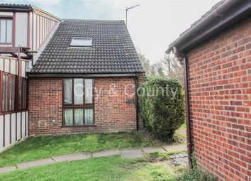 Thumbnail 1 bed terraced house for sale in Churchfield Court, Walton, Peterborough