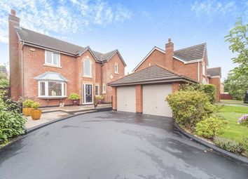 Thumbnail 4 bed detached house for sale in Crowther Drive, Wigan