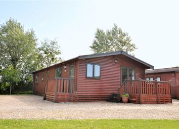 Thumbnail 3 bed mobile/park home for sale in Pinewood Retreat, Sidmouth Road, Lyme Regis