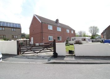 Thumbnail 3 bed semi-detached house for sale in St. Cadocs Road, Trevethin, Pontypool