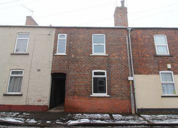 Thumbnail 2 bed terraced house to rent in Britannia Terrace, Gainsborough