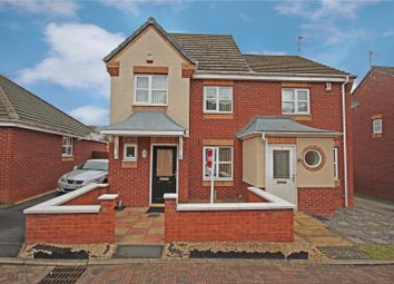 Thumbnail 3 bed semi-detached house for sale in Marsham Close, Hamilton, Leicester