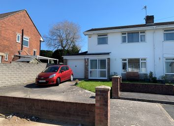 Thumbnail 3 bed semi-detached house for sale in Melville Close, Barry