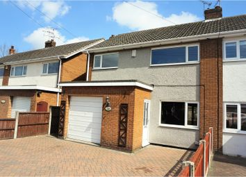 Thumbnail 3 bed semi-detached house for sale in Cinder Lane, Ollerton