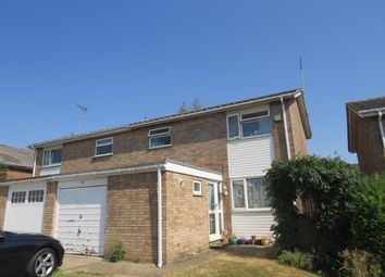 Thumbnail 3 bed semi-detached house to rent in Manor Gardens, Stanground, Peterborough