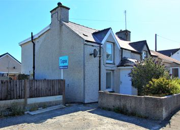 Thumbnail 2 bed semi-detached house for sale in High Street, Bryngwran, Holyhead