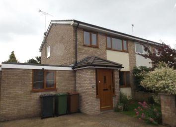 Thumbnail 3 bedroom semi-detached house for sale in Fakenham, Norfolk