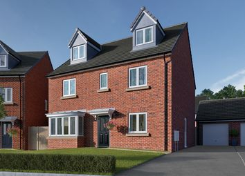 "Thumbnail 5 bedroom detached house for sale in ""The Fletcher"" at Roecliffe Lane, Boroughbridge, York"