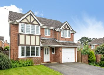 Thumbnail 4 bed detached house to rent in Reads Field, Four Marks, Alton