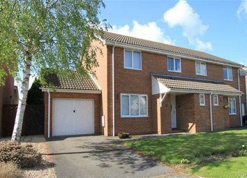 Thumbnail 3 bed semi-detached house for sale in Mallow Close, Highcliffe, Christchurch, Dorset