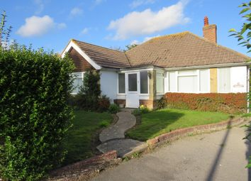 Thumbnail 3 bed detached bungalow for sale in North Way, Seaford