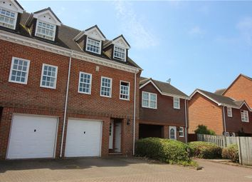 Thumbnail 3 bed terraced house for sale in Calcott Park, Yateley, Hampshire