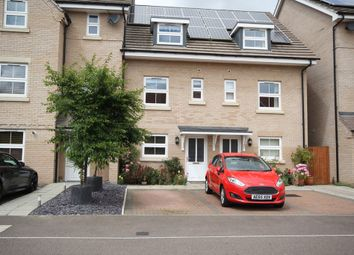 Thumbnail 3 bed town house for sale in Browning Close, Royston