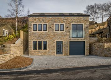 Thumbnail 4 bed detached house for sale in Cliff Road, Holmfirth