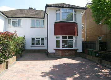 Thumbnail 2 bed flat to rent in St Philips Avenue, Worcester Park