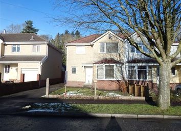 Thumbnail 3 bed semi-detached house to rent in Cambridge Gardens, Beaufort, Ebbw Vale