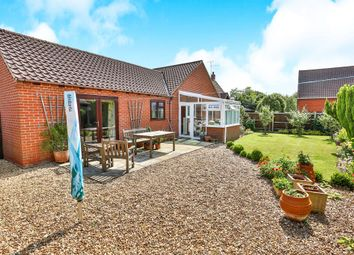 Thumbnail 4 bed detached bungalow for sale in Greenway Lane, Fakenham
