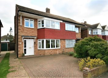 Thumbnail 3 bed semi-detached house to rent in Mayflower Way, Ongar