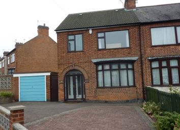 Thumbnail 3 bedroom property to rent in Brian Road, Leicester