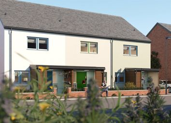Thumbnail 3 bedroom end terrace house for sale in Anthony Road, Exeter