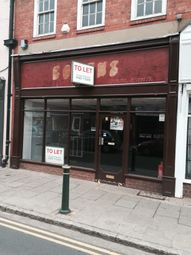 Thumbnail Retail premises to let in 54 Long Street, Atherstone