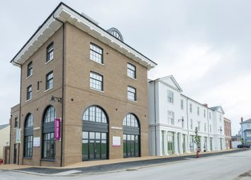 Thumbnail 2 bed flat for sale in Crown Square, Poundbury, Dorchester