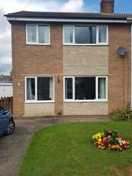 Thumbnail 3 bed semi-detached house to rent in Dart Grove, Auckley