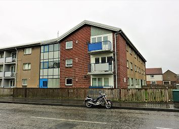 Thumbnail 3 bedroom flat for sale in Kersiebank Avenue, Grangemouth