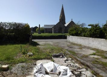 Thumbnail Land for sale in Building Plot Adj 1 The Glebe, Cubert, Newquay, Cornwall