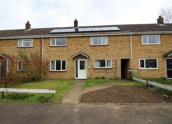 Thumbnail 3 bedroom terraced house for sale in Manor Road, Long Stratton, Norwich