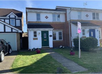 Thumbnail 3 bed semi-detached house for sale in Challinor, Harlow