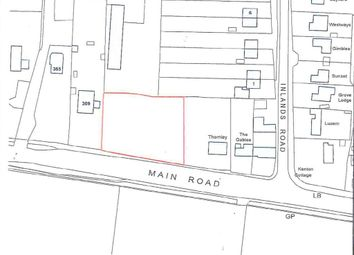 Thumbnail Land for sale in Main Road, Nutbourne, Chichester
