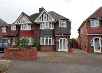 Thumbnail 3 bedroom semi-detached house for sale in Studland Road, Hall Green, Birmingham