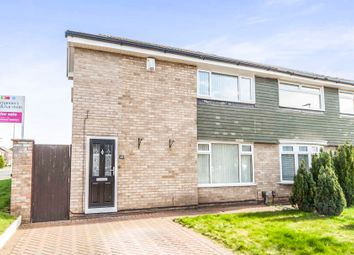 Thumbnail 4 bed semi-detached house for sale in Petrel Crescent, Norton, Stockton-On-Tees