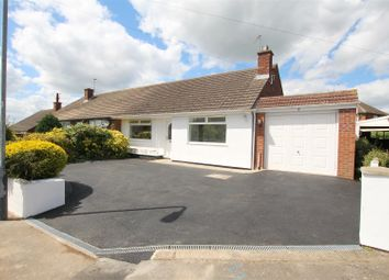 Thumbnail 3 bed semi-detached bungalow for sale in Lythall Close, Radford Semele, Leamington Spa