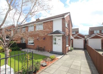 Thumbnail Semi-detached house for sale in Burnthill Crescent, Newtownabbey