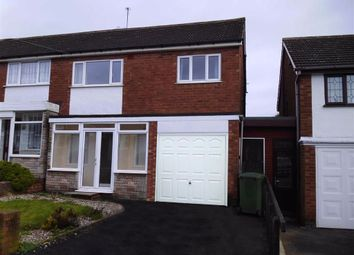 Thumbnail 3 bed semi-detached house to rent in Berwick Grove, Great Barr, Birmingham