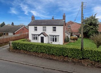 Thumbnail 4 bed detached house for sale in Longford Turning, Market Drayton