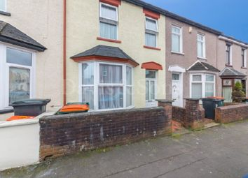Thumbnail 3 bed terraced house for sale in Stafford Road, Off Caerleon Road, Newport.